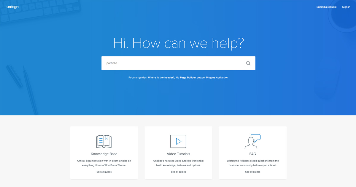 Knowledge Base – Undsgn - Help Center